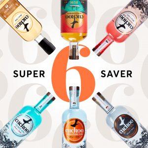 6 bottle deal